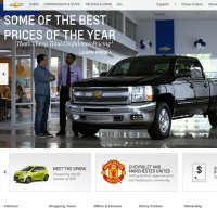 chevrolet.com screenshot