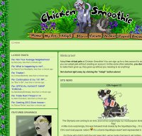 chickensmoothie.com screenshot