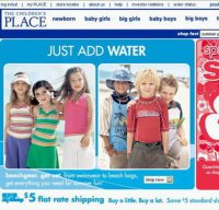 childrensplace.com screenshot