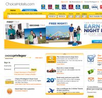 choicehotels.com screenshot