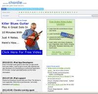 chordie.com screenshot