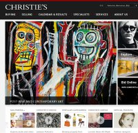christies.com screenshot
