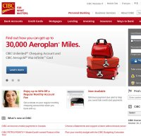 cibc.com screenshot