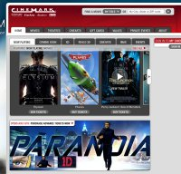 cinemark.com screenshot