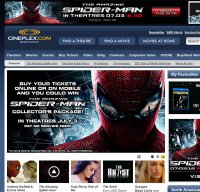 cineplex.com screenshot