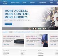 cisco.com screenshot
