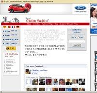 citationmachine.net screenshot