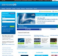 citicards.com screenshot