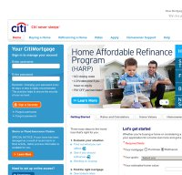 citimortgage.com screenshot