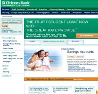 citizensbank.com screenshot