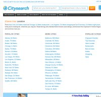 citysearch.com screenshot