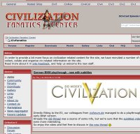 civfanatics.com screenshot