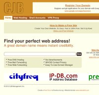 cjb.net screenshot