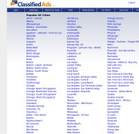 classifiedads.com screenshot