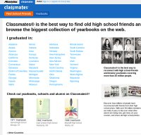 classmates.com screenshot
