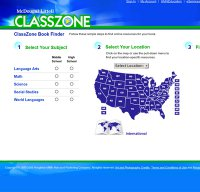 classzone driverlayer search engine