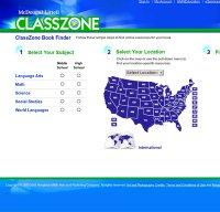 classzone.com screenshot