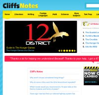 cliffsnotes.com screenshot
