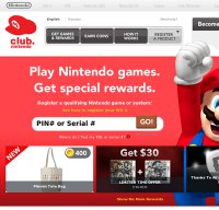 club.nintendo.com screenshot