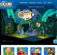 clubpenguin.com screenshot