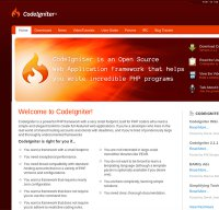 codeigniter.com screenshot