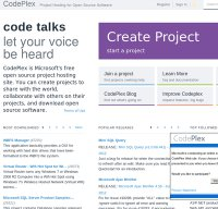 codeplex.com screenshot
