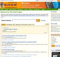 codeproject.com screenshot