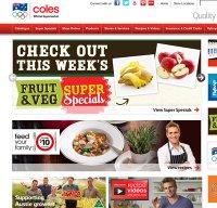 coles.com.au screenshot