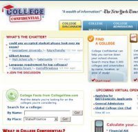 collegeconfidential.com screenshot