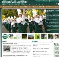 colostate.edu screenshot