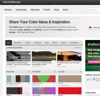colourlovers.com screenshot