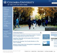 columbia.edu screenshot