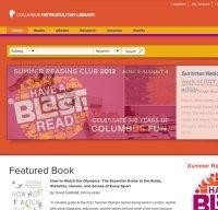 columbuslibrary.org screenshot