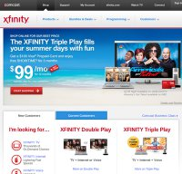 comcast.com screenshot