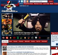 comicbookmovie.com screenshot