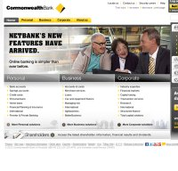 commbank.com.au screenshot