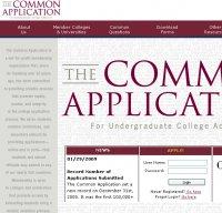 commonapp.org screenshot