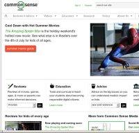 commonsensemedia.org screenshot