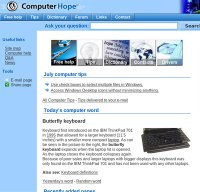 computerhope.com screenshot