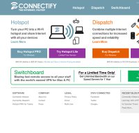 connectify.me screenshot