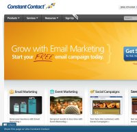 constantcontact.com screenshot