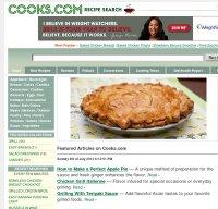 cooks.com screenshot