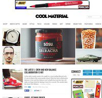 coolmaterial.com screenshot