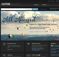 corbisimages.com screenshot