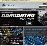 corsair.com screenshot
