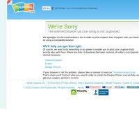 coupons.com screenshot