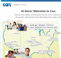 cox.com screenshot