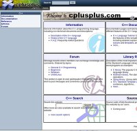cplusplus.com screenshot