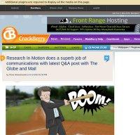 crackberry.com screenshot