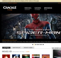 crackle.com screenshot